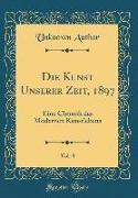 Die Kunst Unserer Zeit, 1897, Vol. 8