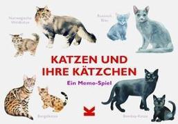 Katzen und ihre Kätzchen