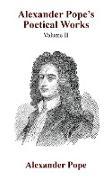 Alexander Pope's Poetical Works Vol. II