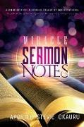 Miracle Sermon Notes