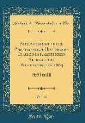 Sitzungsberichte Der Philosophisch-Historische Classe Der Kaiserlichen Akademie Der Wissenschaften, 1864, Vol. 48: Heft I Und II (Classic Reprint)