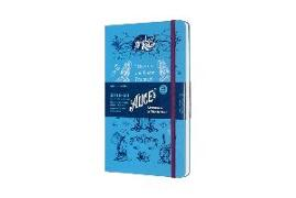 Moleskine 18 Month Weekly Notebook Alice 2019/2020 L/A5, 1 week = 1 page, ruled page on the right, Hard Cover, Blue