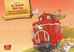 Dr. Brumm fährt Zug. Kamishibai Bildkartenset