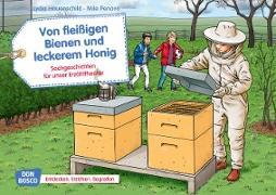 Von fleißigen Bienen und leckerem Honig. Kamishibai Bildkartenset
