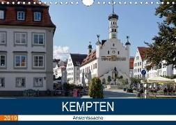 Kempten - Ansichtssache (Wandkalender 2019 DIN A4 quer)