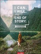 I Can. I Will. End of Story. Kalender 2020