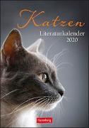 Katzen Literaturkalender Kalender 2020