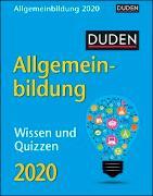 Duden Allgemeinbildung Kalender 2020