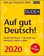 Duden Auf gut Deutsch! Kalender 2020