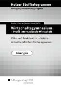 Holzer Stofftelegramme Baden-Württemberg – Wirtschaftsgymnasium