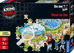 Krimipuzzle ??? Kids 150 Teile / Chaos im Zoo
