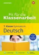 Fit für die Klassenarbeit - Gymnasium. Deutsch 7