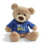 Get Well T-Shirt Bear Blue Boy