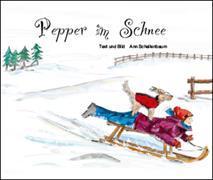 Pepper im Schnee