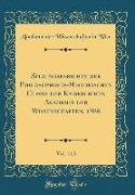 Sitzungsberichte Der Philosophisch-Historischen Classe Der Kaiserlichen Akademie Der Wissenschaften, 1886, Vol. 113 (Classic Reprint)
