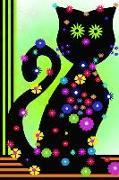 Freche Miezen: Katze Katzen Mieze Kater Notiz Notizbuch Terminplaner Journal Kreativ Informationen Mädchen Frau Tagebuch