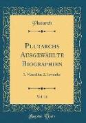 Plutarchs Ausgewählte Biographien, Vol. 21