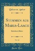 Stimmen Aus Maria-Laach, Vol. 49: Katholische Blätter (Classic Reprint)