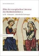 Blüte der europäischen Literatur des Hochmittelalters 3