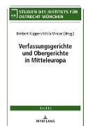 Verfassungsgerichte und Obergerichte in Mitteleuropa