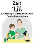Deutsch-Amharisch Zeit Zweisprachiges Bilderbuch Für Kinder