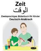 Deutsch-Arabisch Zeit Zweisprachiges Bilderbuch Für Kinder