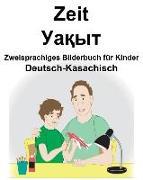 Deutsch-Kasachisch Zeit Zweisprachiges Bilderbuch Für Kinder