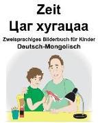 Deutsch-Mongolisch Zeit Zweisprachiges Bilderbuch Für Kinder