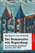 Der Dommeister Von Regensburg: Geschichtliche Erzählung Aus Dem Jahr 1518