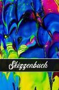 Skizzenbuch: Malen - Zeichnen Und Skizzieren Unterwegs - Blanko-Notizbuch Zum Selbstgestalten - Künstler Skizzenbuch
