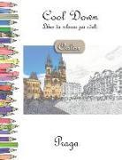 Cool Down [color] - Libro Da Colorare Per Adulti: Praga
