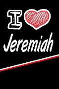 """I Love Jeremiah: Beer Tasting Journal Rate and Record Your Favorite Beers Featuring 120 Pages 6""""x9"""""""