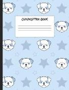 """Composition Book: Stars and Bulldogs, 200 Pages, College Ruled (7.44"""" X 9.69"""")"""
