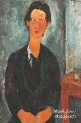 Modigliani Notizbuch: Chaim Soutine - Trendy Liniertes Notizbuch - Softcover, 100 Seiten