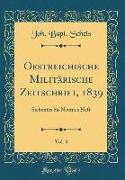 Oestreichische Militärische Zeitschrift, 1839, Vol. 3
