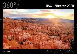 360° USA - Westen Kalender 2020