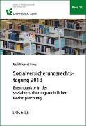 Sozialversicherungsrechtstagung 2018