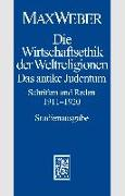 Gesamtausgabe. Abt. I/21/1: Max Weber Studienausgabe