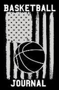 Basketball Journal: Basketball Journal Blank Lined Notebook
