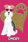Foxy Life Emery: College Ruled Composition Book Diary Lined Journal