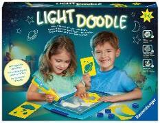 Light Doodle Mond & Sterne