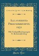 Illustriertes Preisverzeichnis, 1931