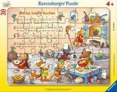 Backe, backe Kuchen Rahmenpuzzle