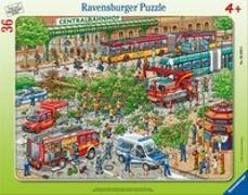 Straßenszene Rahmenpuzzle