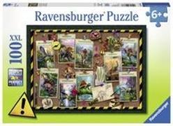 Dinosaurier Sammlung Puzzle 100 Teile XXL
