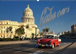 Cuba Cars (CH-Version) (Wandkalender 2020 DIN A2 quer)
