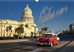 Cuba Cars (CH-Version) (Wandkalender 2020 DIN A3 quer)