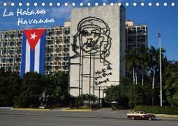 La Habana / Havanna (Tischkalender 2020 DIN A5 quer)