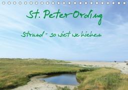 St. Peter-Ording (Tischkalender 2020 DIN A5 quer)