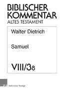 Samuel (2 Sam 8. Register, Titelei)